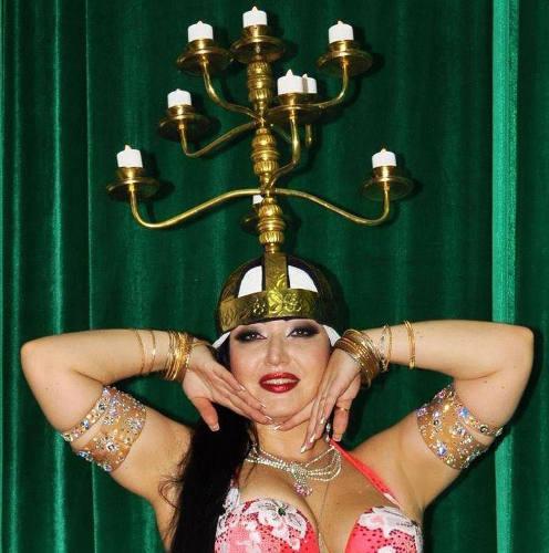 Belly dance Hanouka Jewpop