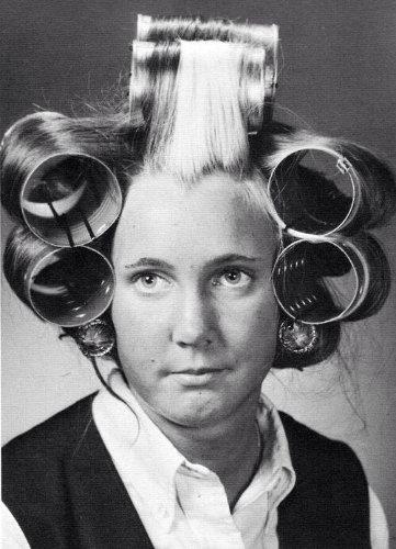 Cheveux rouleaux Jewpop
