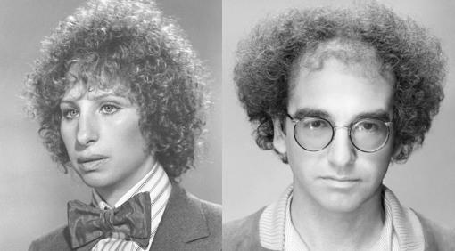 Barbra Streisand larry david Jewfro Jewpop