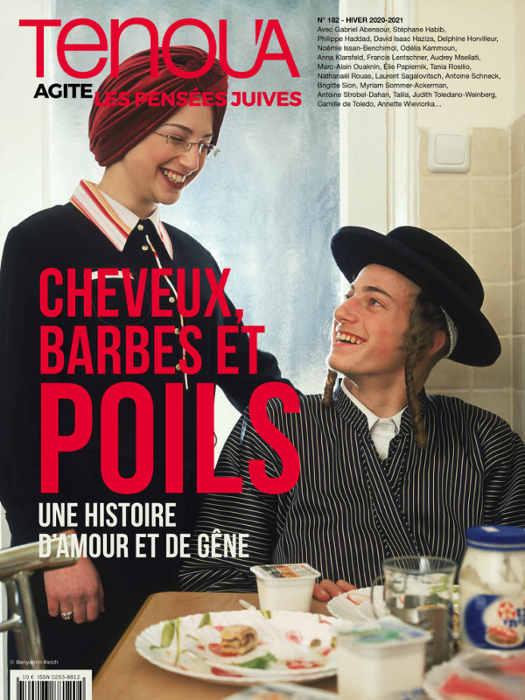 Couverture magazine Tenoua poil Jewpop