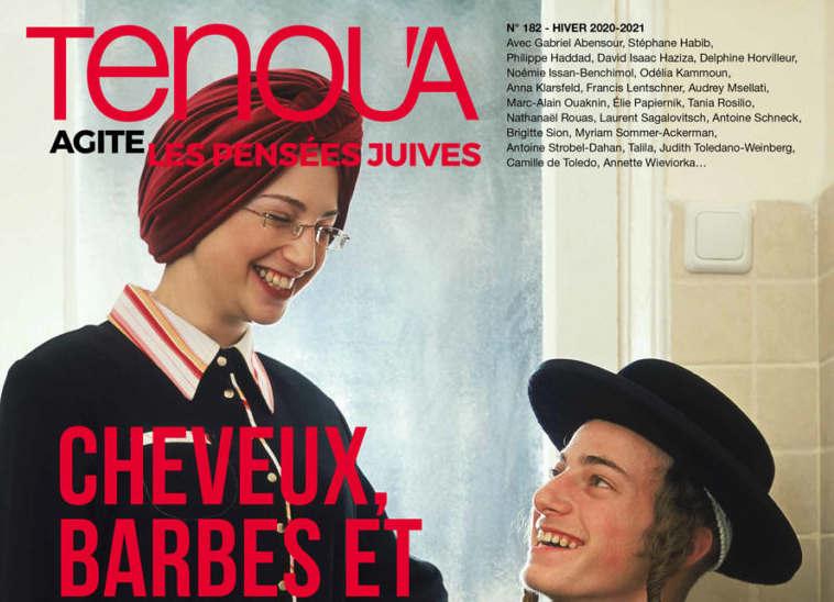Tenoua magazine poil Jewpop