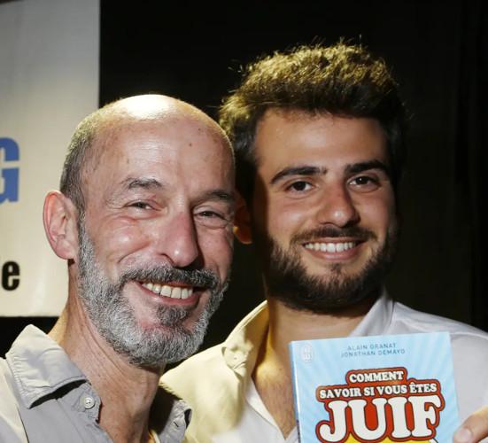 Alain Granat et Jonathan Demayo Jewpop
